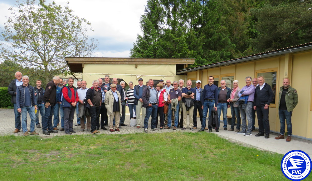 Gruppenfoto auf dem Arloh